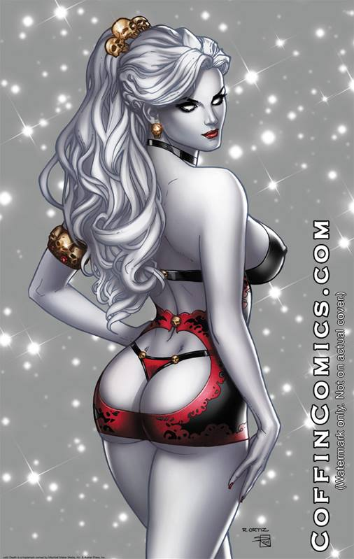Lady Death Pin Ups #1 Dare Edition by Ric1975