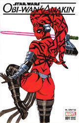 Darth Talon sketchcover