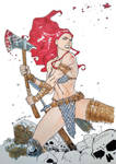 Red Sonja A4 Commission