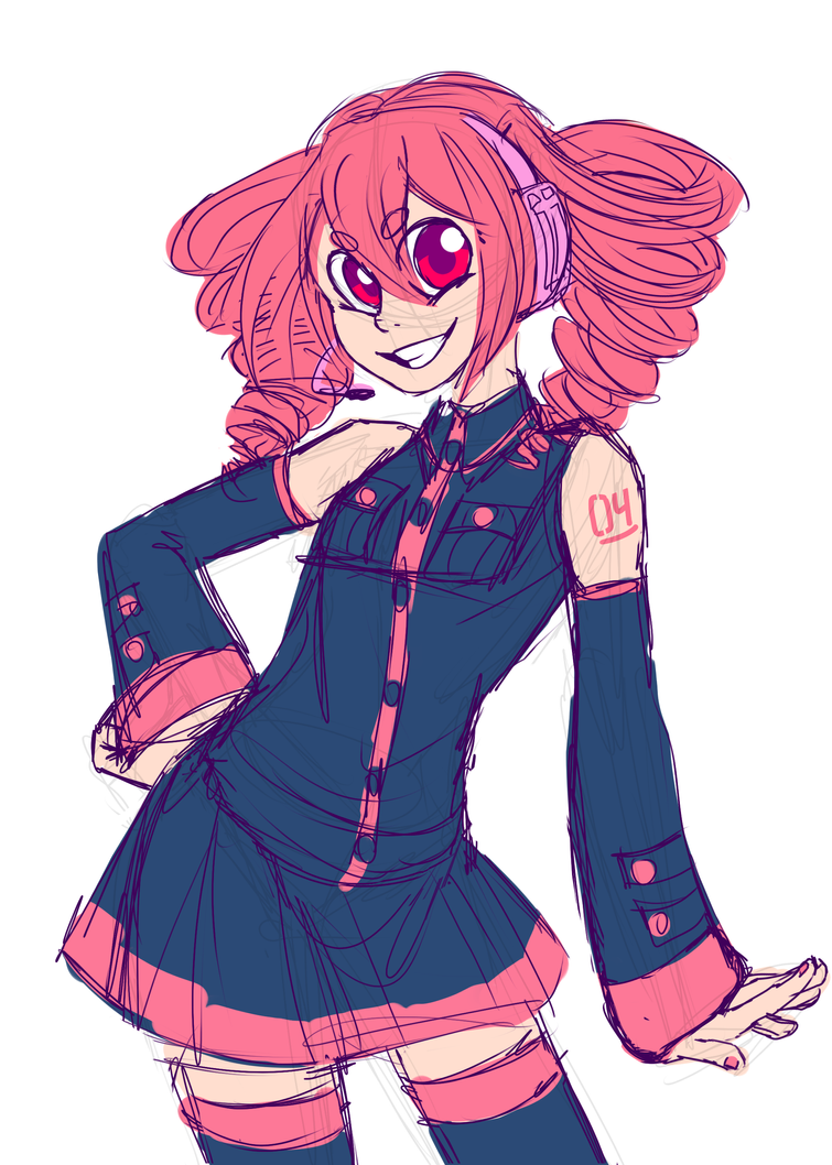 [UTAU 30 CHALLENGE] Day 2: Kasane Teto by PRISMOID