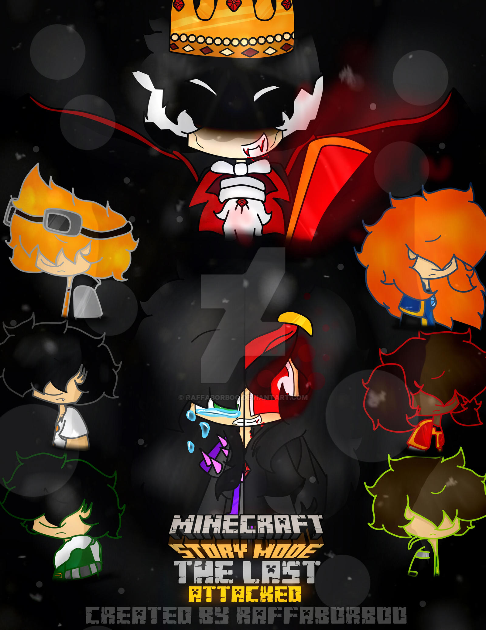 Minecraft story mode the last attacked by raffaborboo on deviantart - Minecraft story mode wallpaper ...