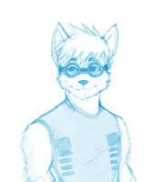 Hotarubaku Sketch by vincentwolf