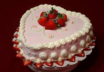 Happy Valentine Cake by vincentwolf