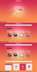 ARKGRAFIK CMS-Admin Interface by arkgrafik