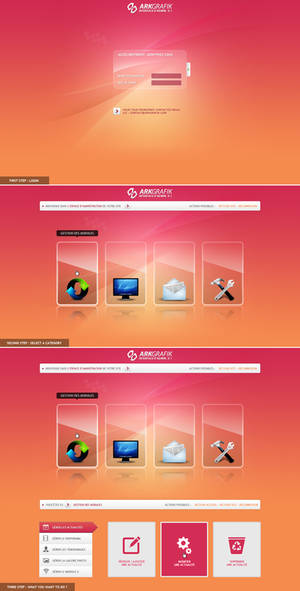 ARKGRAFIK CMS-Admin Interface