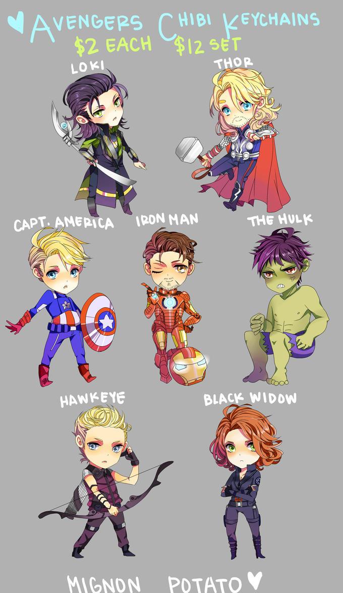 Super Cute Avengers Fan Art  BuzzFeed