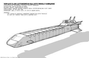 Skipjack class Submarine by MrAverage