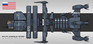Hunter-class Missile Frigate by MrAverage