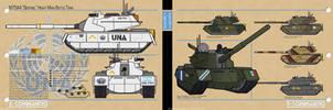 M75A4 Sentinel Main Battle Tank by MrAverage