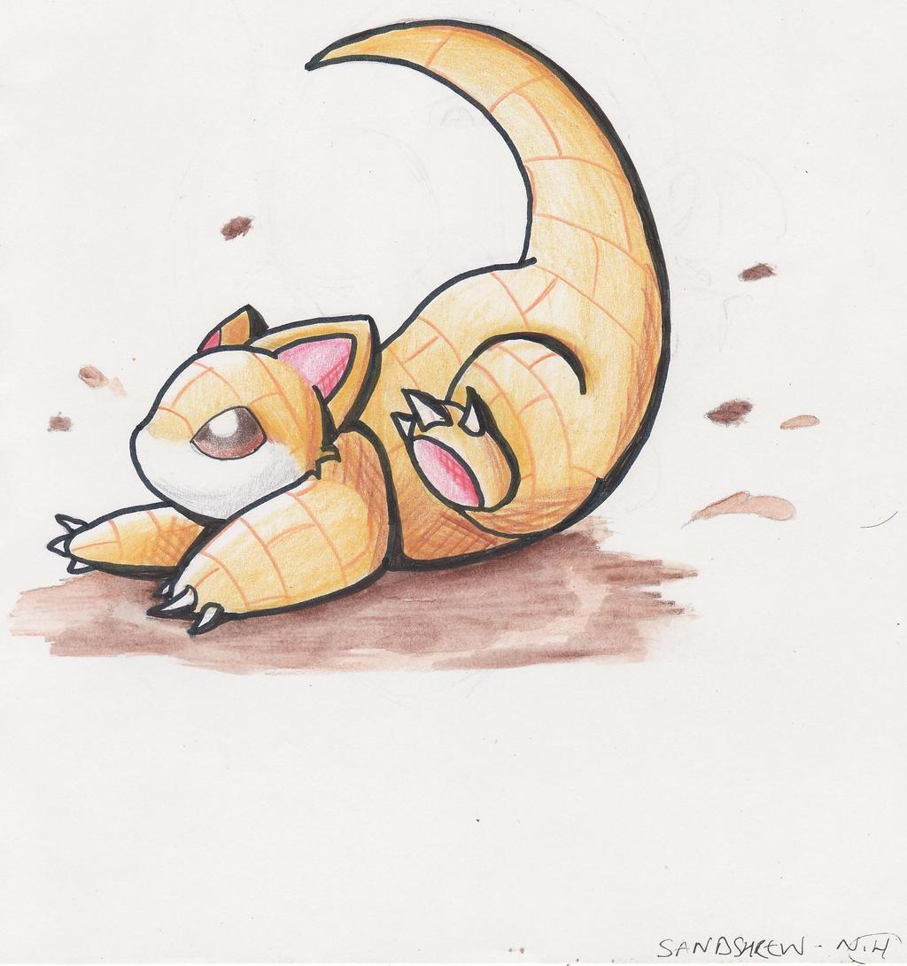 Pokemon Sandshrew Chibi 476918785