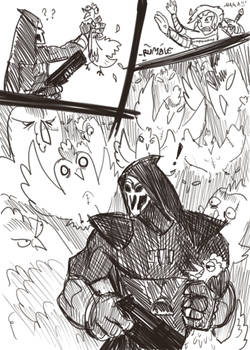 Who reaps the reaper-man