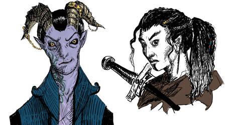 Mollymauk and Yasha