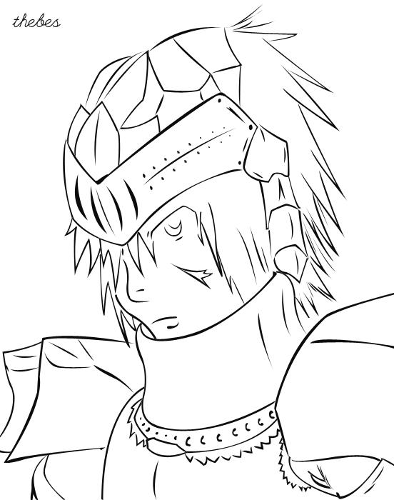 Knight MM - Line Art Knight_mm___line_art_by_kryptosgfx-d5sjhcx