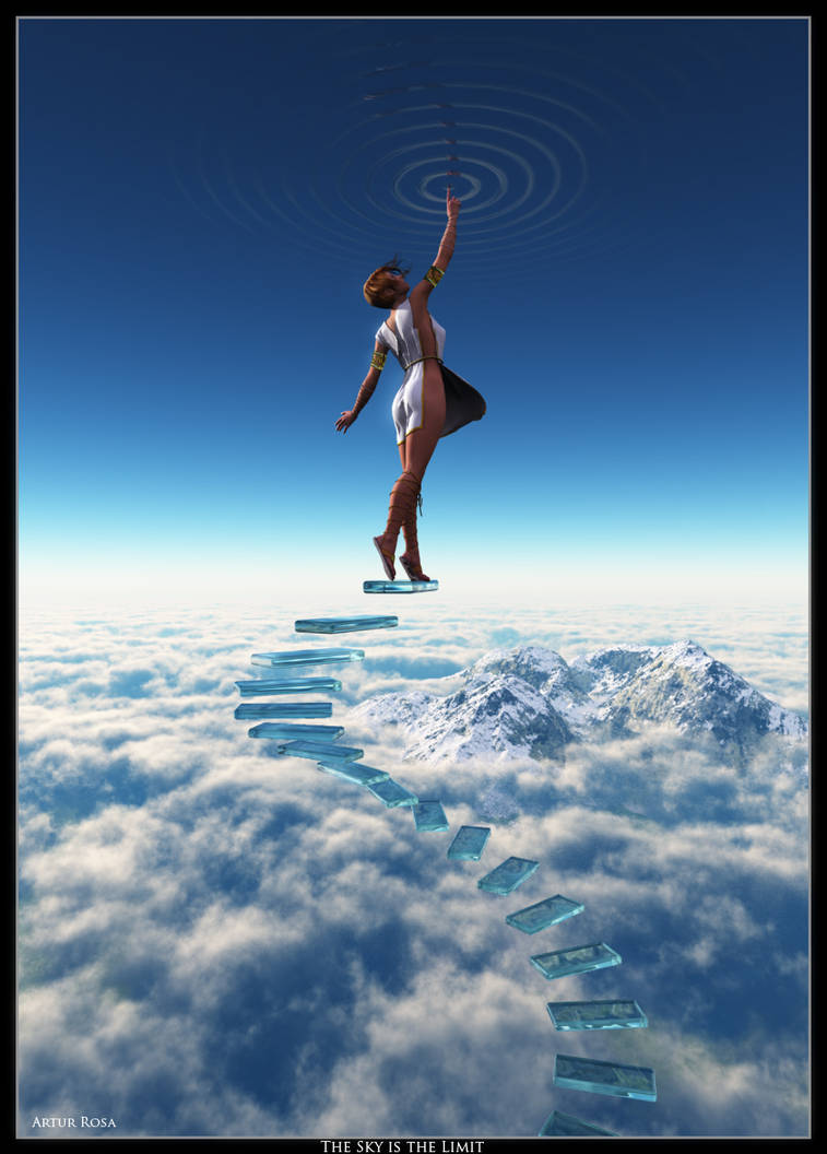 Sky Is The Limit By Arthurblue On Deviantart