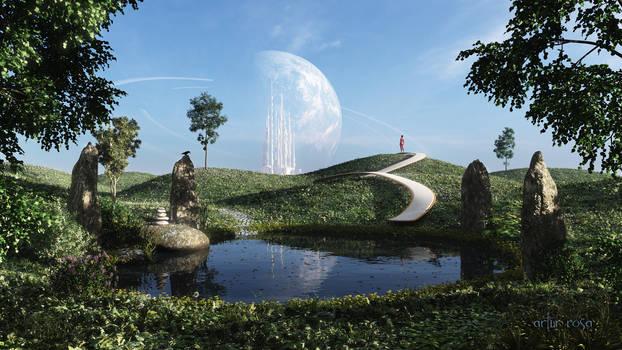 On the moon of Terra IV
