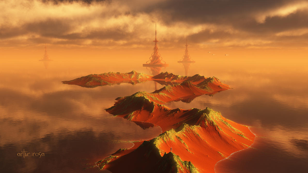 Snake Ridge of the Second Moon by ArthurBlue