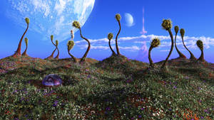 The Living Hills of the Second Moon