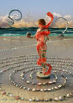 The Spiral Builder of the Low Tide