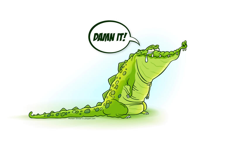 Crocodile tears by PixyPen on DeviantArt