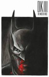 Original Sketch cover I did of Batman
