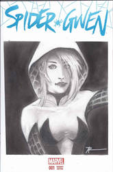 Original Sketch cover I did of Spider-Gwen