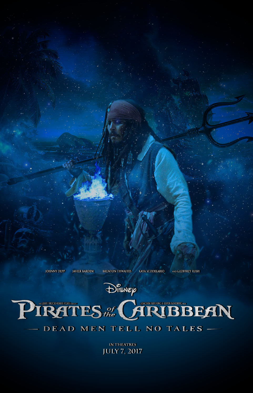 Pirates Of The Caribbean Dead Men Tell No Tales By Ilya95983 On