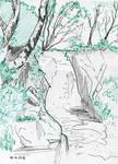 Inktober 06'16: I try into landscape