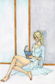 Kalissa reading