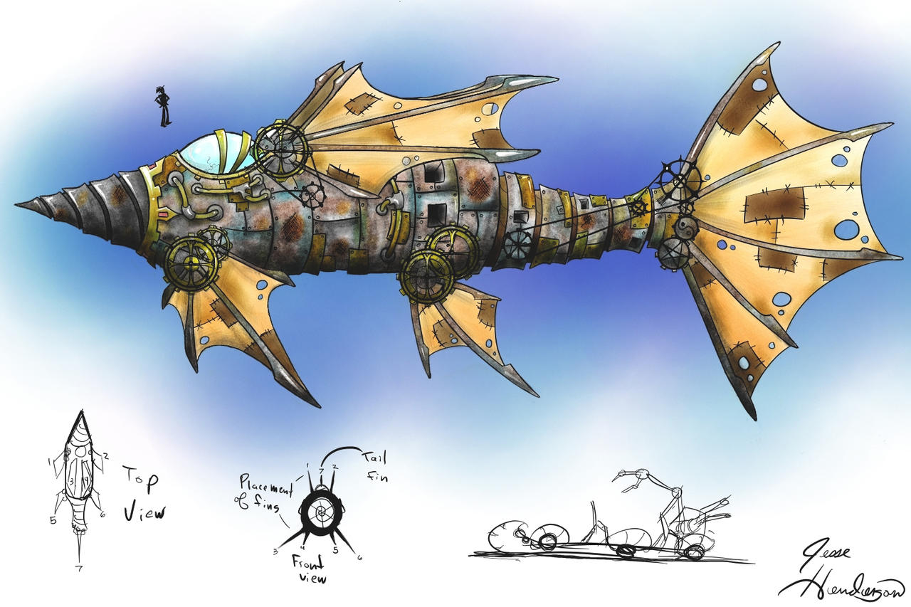 DiscWorld Jingo Submarine by Malici0us