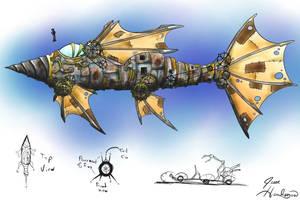DiscWorld Jingo Submarine by Malici0us