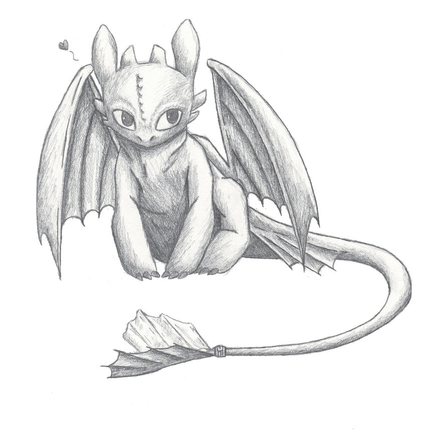Toothless by Fancy-Sheep