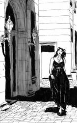 Lady Of Darkness by gardamin