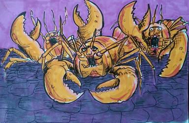 Lobster Squad  by gardamin