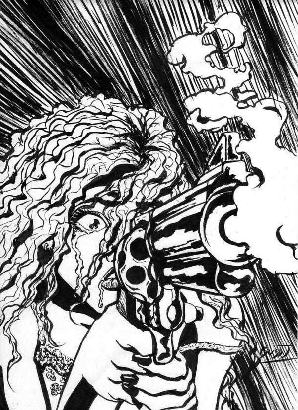 Janie's Got a Gun by LordGusst