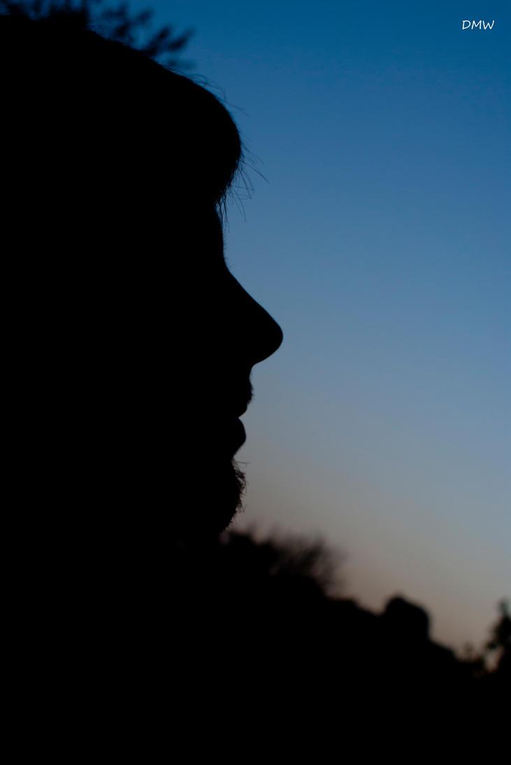 Sunset profile. by DscoverMyWorld