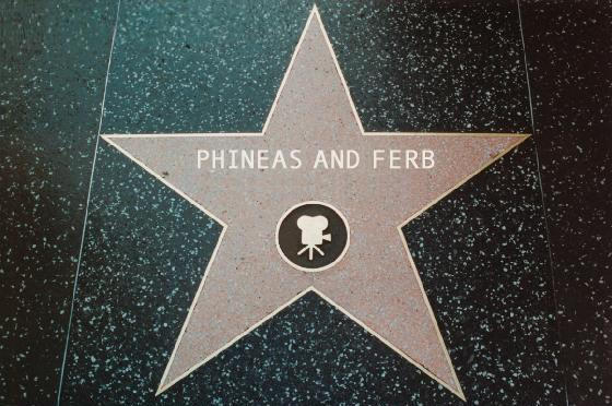 Phineas and Ferb Walk of Fame