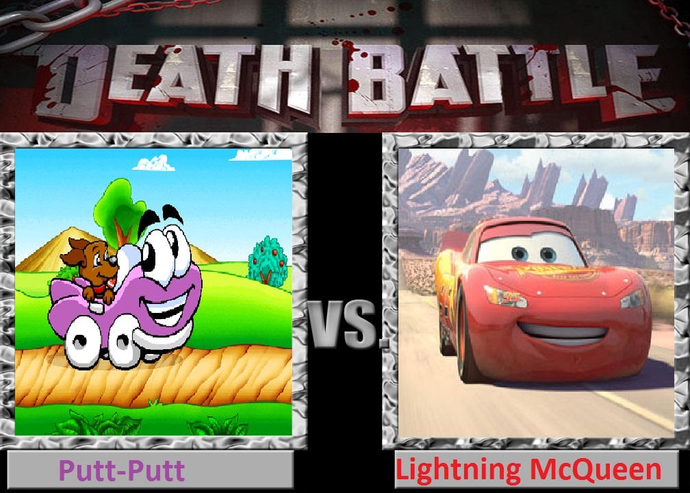 putt putt vs lightning mcqueen by cartoonfan22 on deviantart putt putt vs lightning mcqueen by