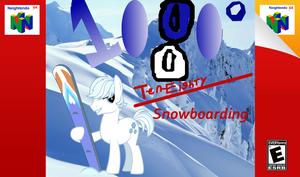 1080 Snowboarding MLP Style by cartoonfan22