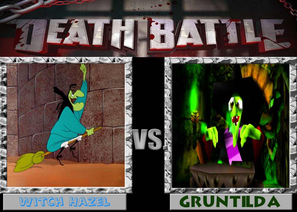 Witch Hazel vs. Gruntilda by cartoonfan22