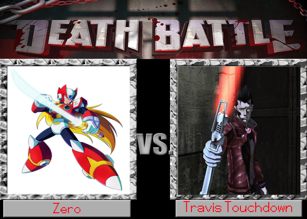 Zero vs Travis Touchdown by cartoonfan22