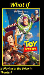 If Toy Story is playing at the Drive-In Theater