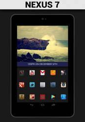 Nexus 7 Blue by CZonin