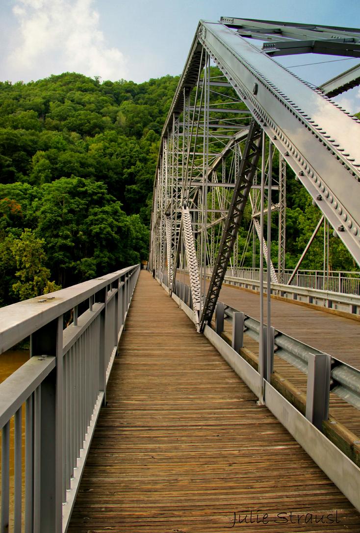 Original New River Gorge Bridge by JNS0316