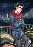 Team Avatar: Mako by fairyxdemon