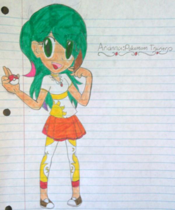 Kid Icarus Pokemon AriannaFor Arceefan16 By SnivyFennkinGirl