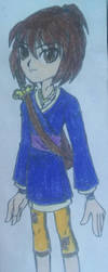 Teruko Akiyama(My Kubo and The Two Strings OC) by SnivyFennkinGirl