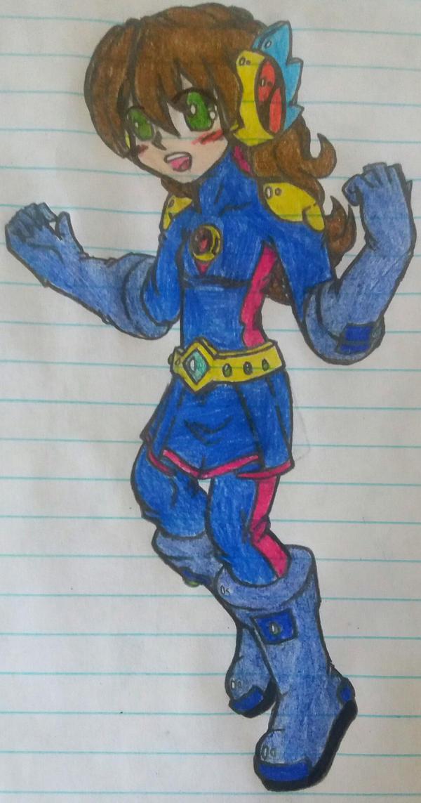 Diamond.EXE/May Hikari Drawing #1 by SnivyFennkinGirl