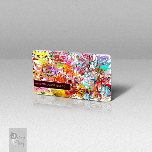 business card by mezamine