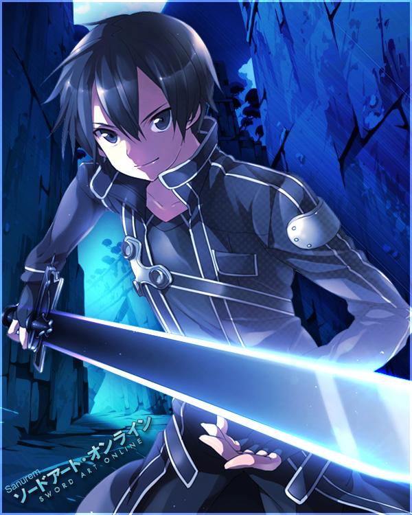 Sword Art Online Kirito By Sanurem On Deviantart