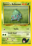 Custom Pokemon Card #004 - Saturn's Bulbasaur by GhilleAttano